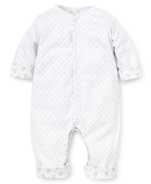 Beloved Bears Reversible Playsuit - Silver