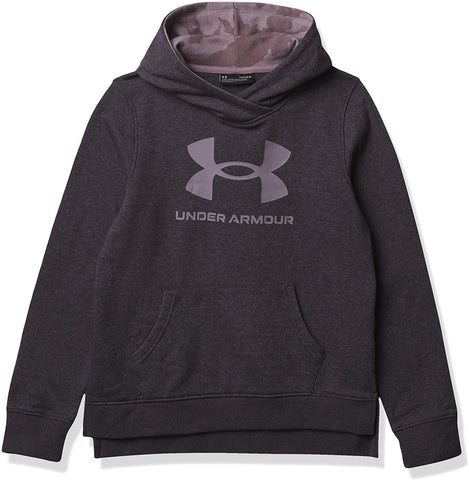 Fury Camo Lockup Hoodie - Blackout Purple