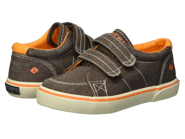 Halyard - Hook and Loop Sneaker - Brown