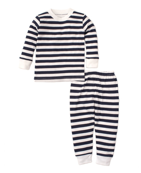 Broad Stripe PJs - Navy