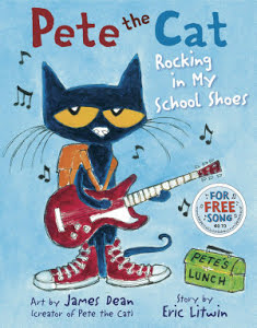 "Pete The Cat Book - ""Rocking in My School Shoes"""