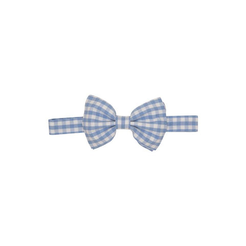 Baylor Bow Tie - Periwinkle Check