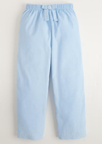 Bow Pant - Lt Blue