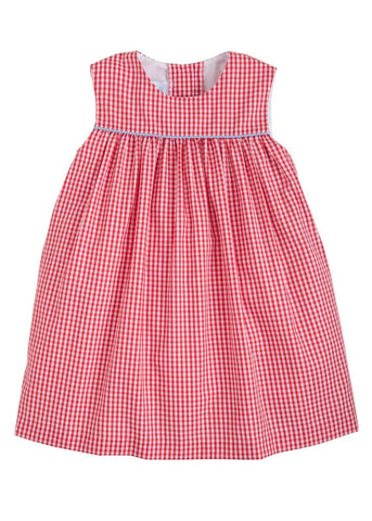 Bellemeade Dress - Red/Blue