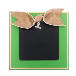 Green Bow Clipboard Frame