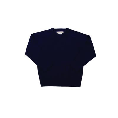 Calum Crewneck - Nantucket Navy Pima