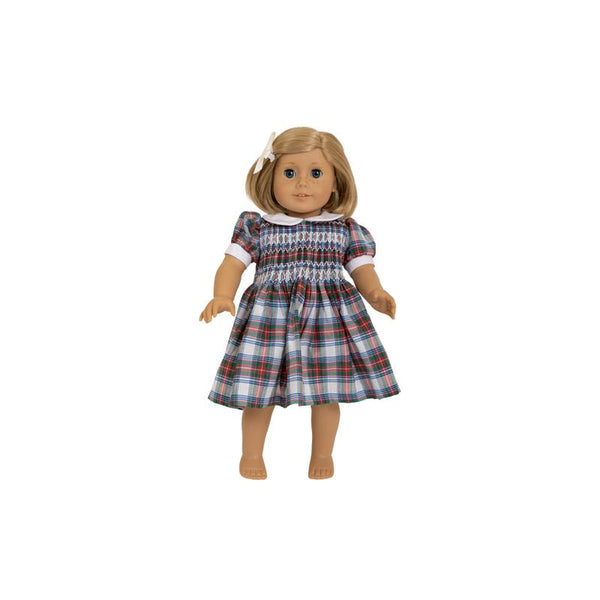 Dolly Darma Dress - Tillingham Tartan