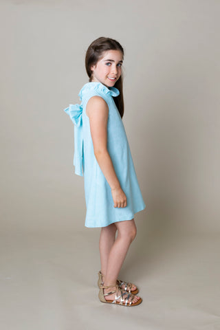 Blair Swing Dress - Aqua