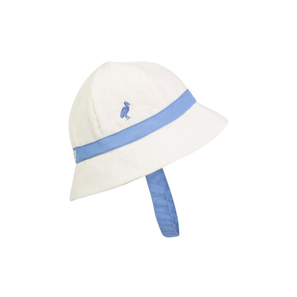 Henry's Boating Bucket - White / Barbados Blue