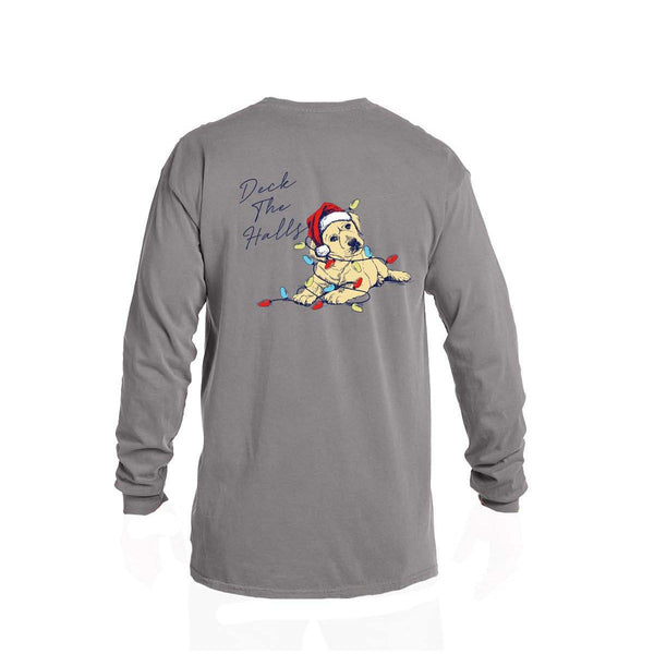 Deck The Halls LS Tee