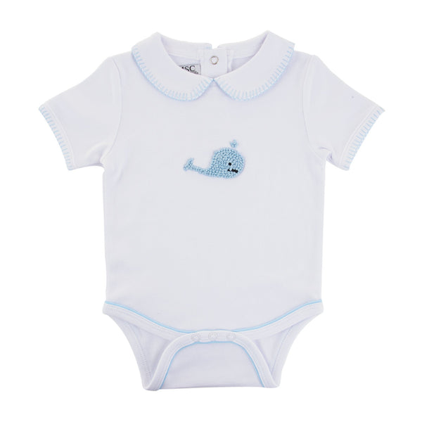 Whale Knot Onesie