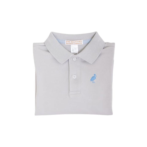 Prim and Proper Polo LS - Grantley Gray
