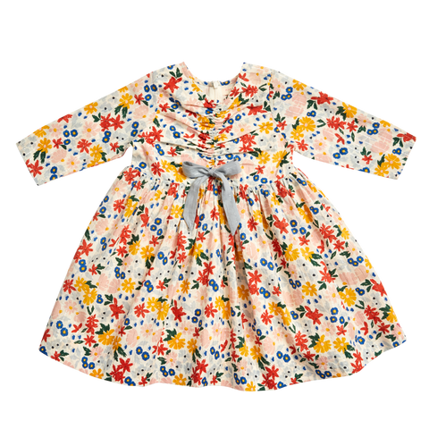 Lucy Dress - Multi Floral