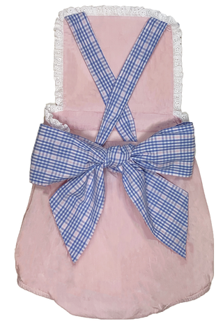George Plaid Sunsuit