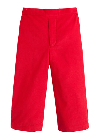 Pull On Pant - Red Corduroy
