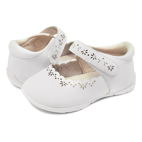 Lily Bright White Classic Mary Jane