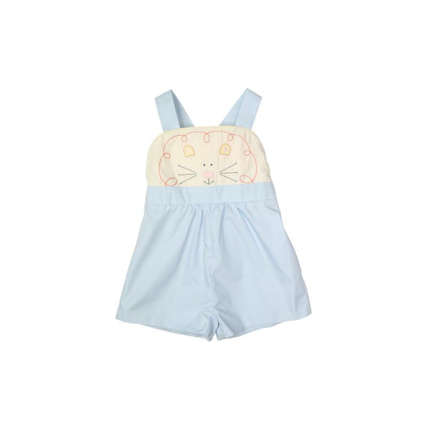 Shadley Shortall - Buckhead Blue with Lion Applique