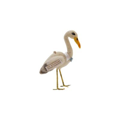 Sir Proper Stork Figurine/Ornament