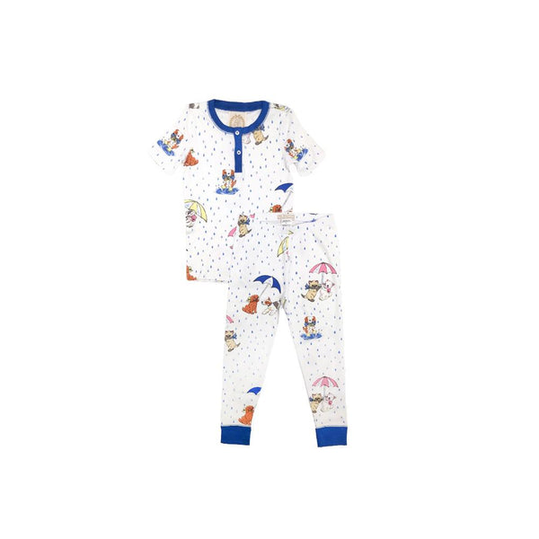 Sutton's Sweet Short Sleeve Set - Raining Cats & Dogs