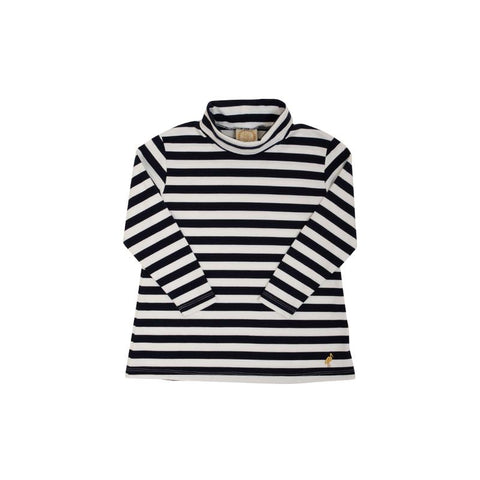 Tenley Tunic - Nantucket Navy Stripe
