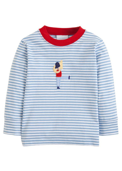 Applique Tee and Red Cord Pull-On Pant Set - Toy Soldier