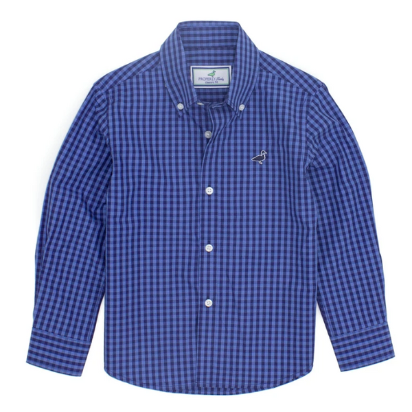 Seasonal Sportshirt - Bluff