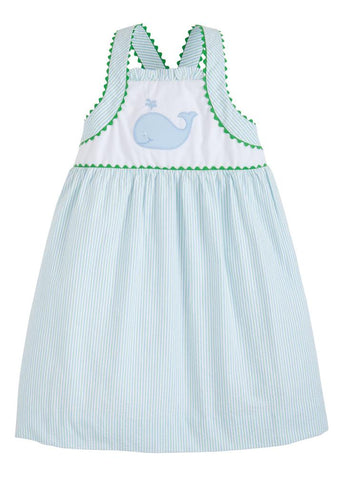 Whale Applique Anna Dress