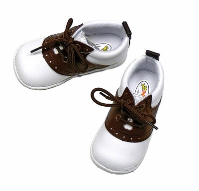 Saddle Shoe Style 2342 - White/Brown