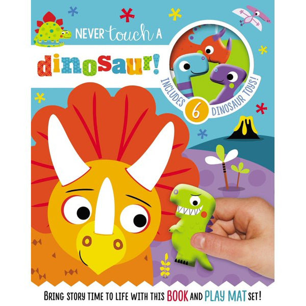 Never Touch A Dinosaur - Read and Play Set