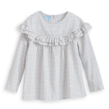 Lowell Blouse - Woodbine Check