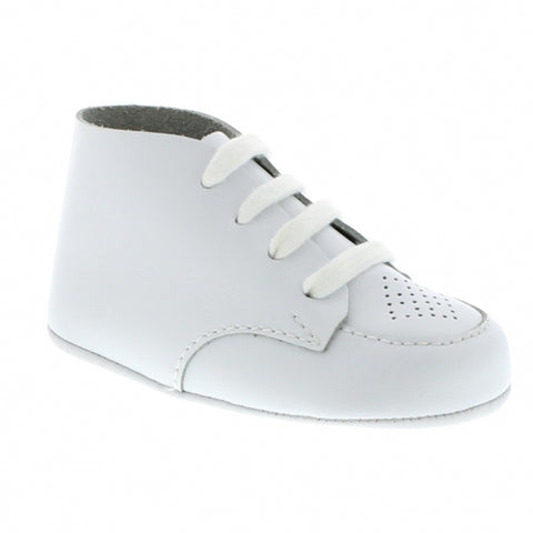 White Crib Shoe