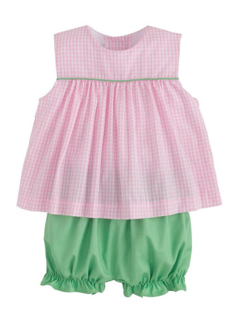 Bellemeade Bloomer Set - Pink/Green