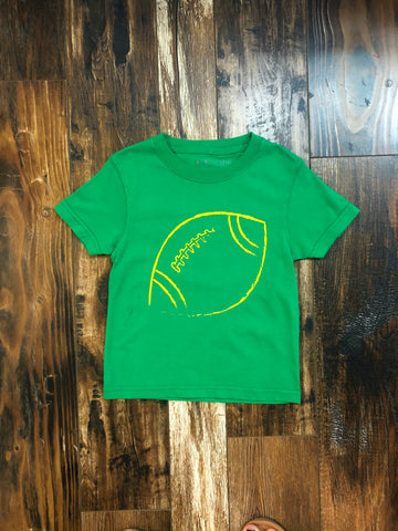 Green & Gold Football Shirt