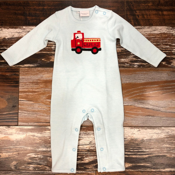 Fire Truck Playsuit