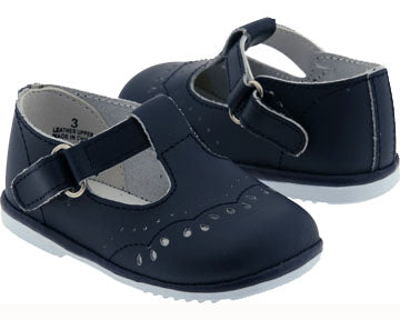 T-Strap Mary Jane Style 2945 - Navy