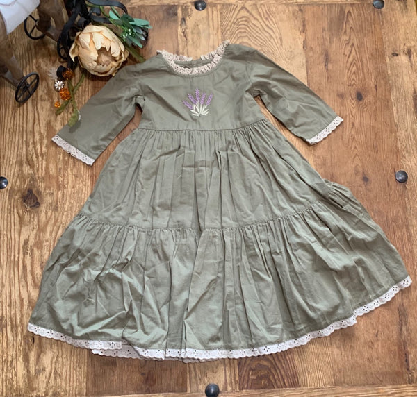 Ashton Dress - Evergreen