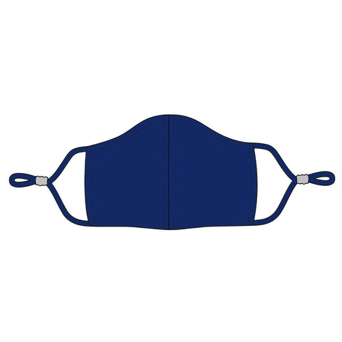 Navy Adjustable Kids Face Mask