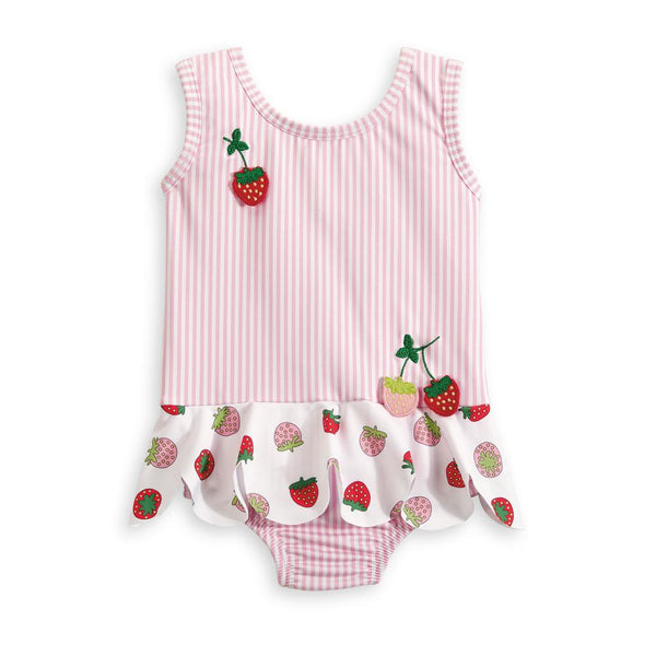 Betty Bathing Suit - Strawberries