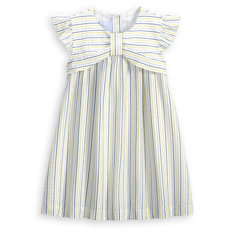 Callaway Dress - Sunny Seersucker Stripe