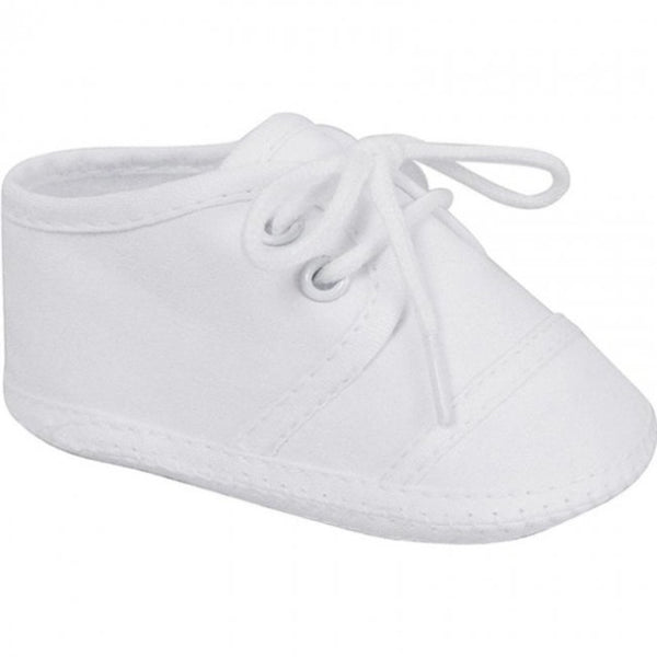 Broadcloth Oxford Crib Shoe