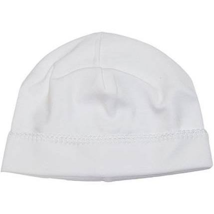 Basic Hat - White on White