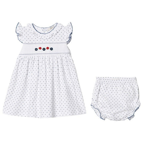 Dainty Daisies Print Dress with Bloomers