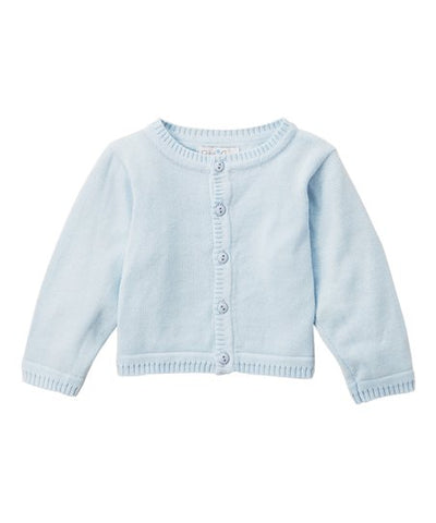 Baby Blue Button Up Cardigan