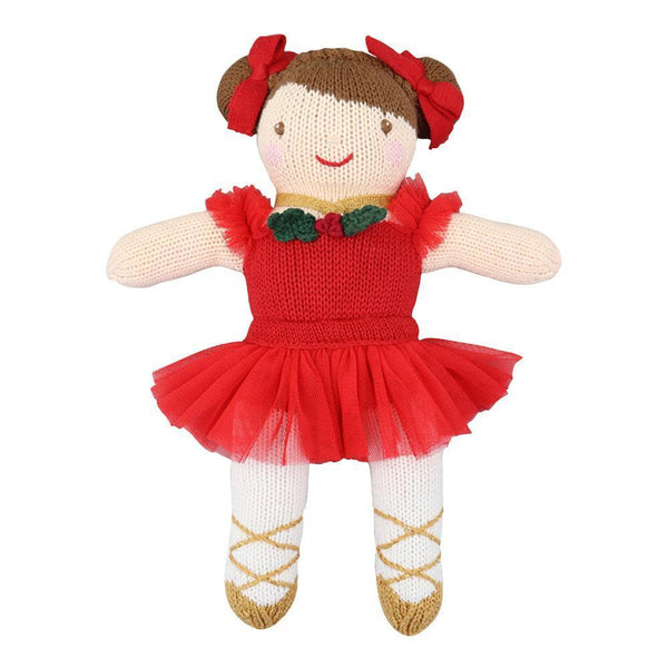 "12"" Crochet Holiday Doll"