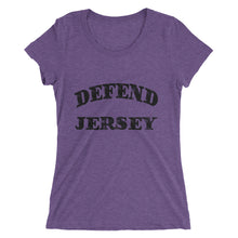 Defend Jersey Classic Ladies' short sleeve t-shirt w/Black Design