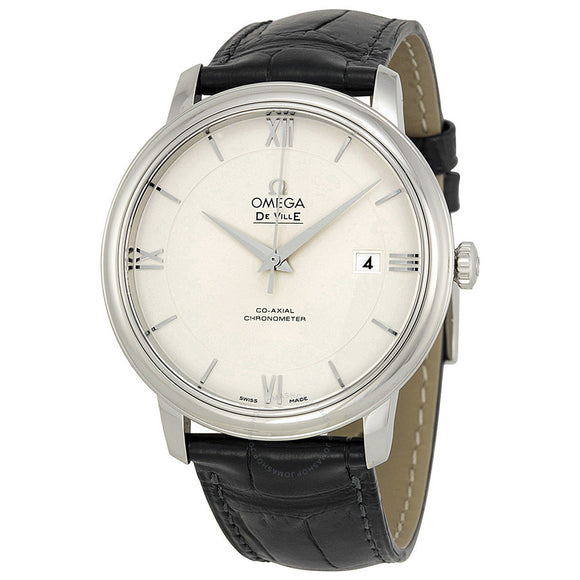 OMEGA De Ville Prestige Automatic Silver Dial Men's Watch