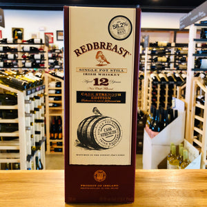 REDBREAST 12 YEAR CASK STRENGTH EDITION IRISH WHISKEY 750ML