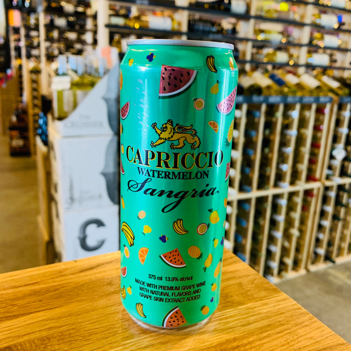 CAPRICCIO WATERMELON SANGRIA 375ML CAN