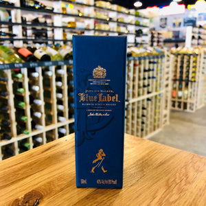 JOHNNIE WALKER BLUE LABEL BLENDED SCOTCH WHISKY 50ML