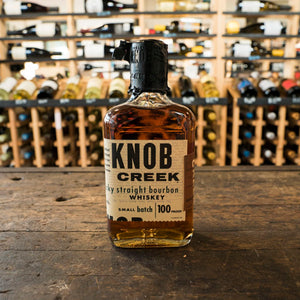 KNOB CREEK BOURBON 100 PROOF 375ML